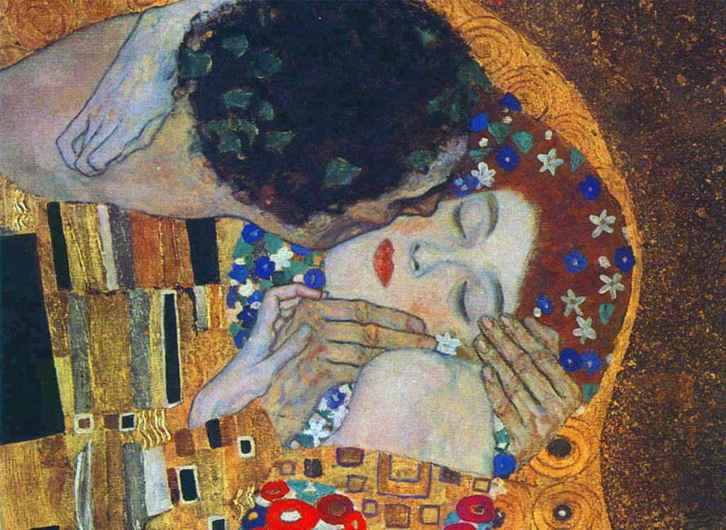 il bacio Klimt_4