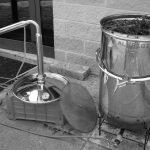 distillatore plus bianco e nero piccolo